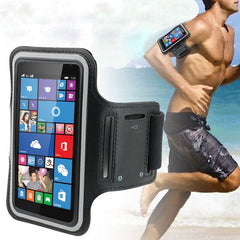 Latest 2017 Dowin Black Sports Running Jogging Gym Armband Arm Band Case Cover Holder for iPhone 6/iPhone 6S