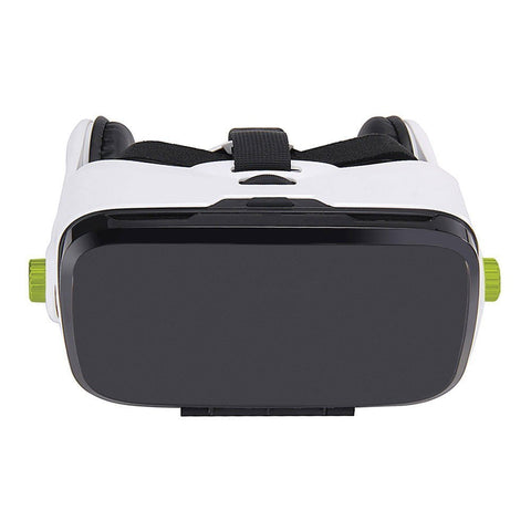 Owl Hawk - VR with head strap - High quality Google Cardboard 3D Games Movies VR Headset Virtual Reality box compatible with Apple, Samsung, LG, Sony, Nexus, HTC, and other Android smartphones with Headphones and Remote Control - Qtopdeals - 1