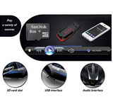 Premium Quality MP3 Player with LCD / SD Card Slot / Remote Control / AUX - Qtopdeals - 7