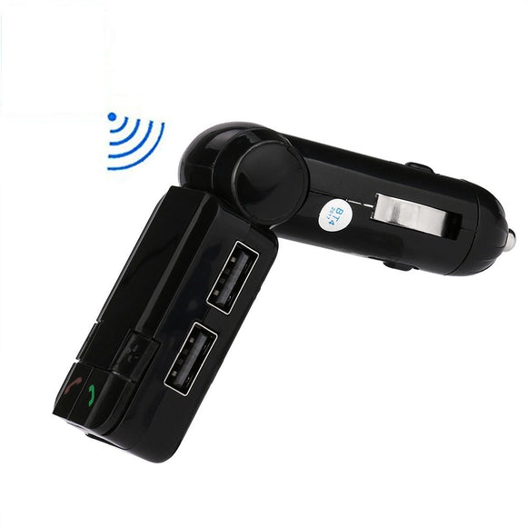 HAWK Bluetooth Handsfree FM Transmitter with Dual USB Charger 5b3907e3a378