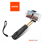 New design selfie stick with Bluetooth shutter button stick self stikboxs for iPhone 6 6s plus and Samsung with Power Bank  - Qtopdeals - 6