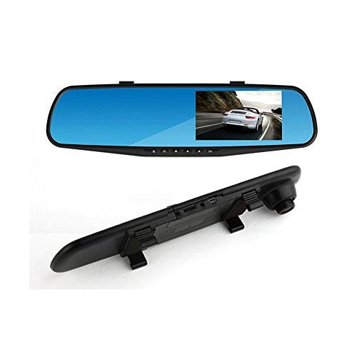 Car Rear View Mirror with Full HD 720p Camera Recorder