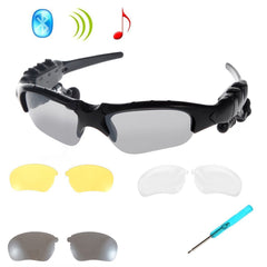 HAWK® Black Polarized Bluetooth Sunglasses Sunglasses