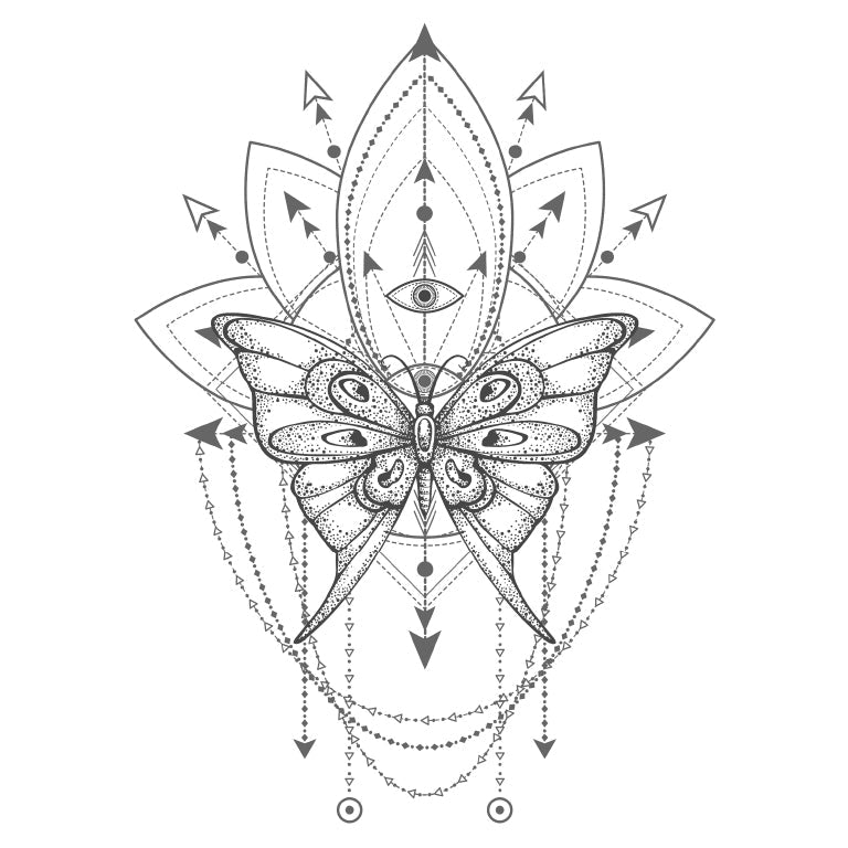 Sacred Geometric - Butterfly