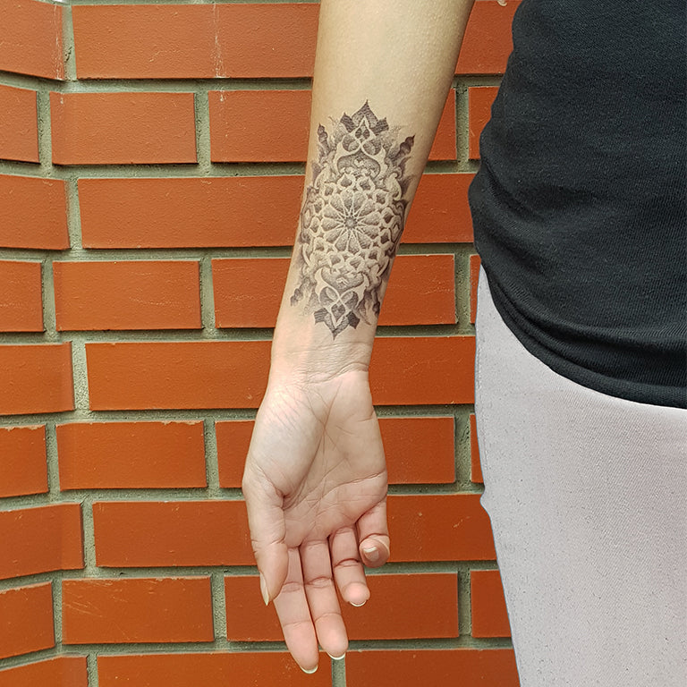Temporary tattoo - Long Lotus - Pack - ArtWear Tattoo - Fake tattoo