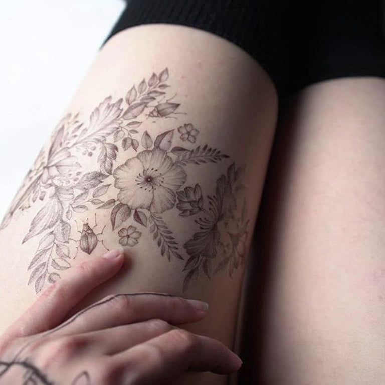 Temporary tattoo - Bibi - by Yoshika - ArtWear Tattoo - Fake tattoo
