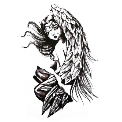 Temporary tattoo - Angel Tear - ArtWear Tattoo - Fake tattoo