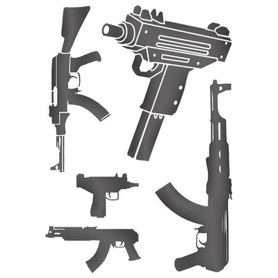 Temporary tattoo - Gunz Talk V2 - Pack - ArtWear Tattoo - Fake tattoo