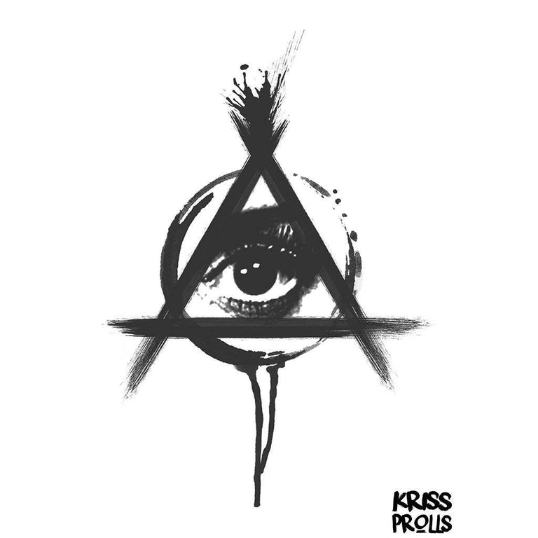 Temporary tattoo - Illuminatis - by Kriss Prolls - ArtWear Tattoo - Fake tattoo