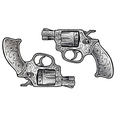 Temporary tattoo - Gunz - Pack - ArtWear Tattoo - Fake tattoo