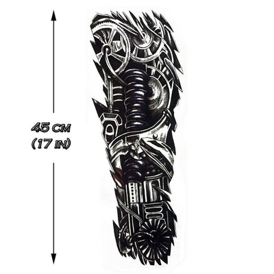 Temporary tattoo - Mechanical Sleeve - ArtWear Tattoo - Fake tattoo