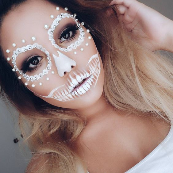 20 awesome but easy diy halloween makeup you should try