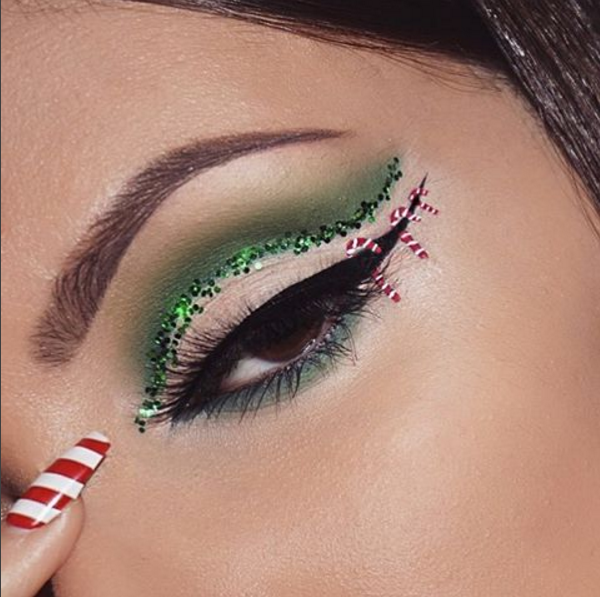 These Stunning Makeups Will Shine Your Way Christmas ...