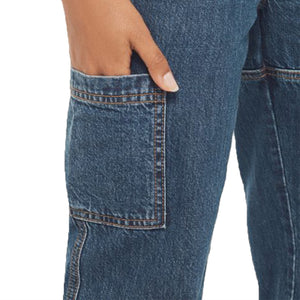 leisure high waisted cargo jeans pants