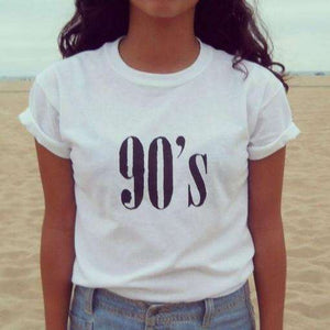 T-shirt in cotone hip-hop 90's Street - Lupsona
