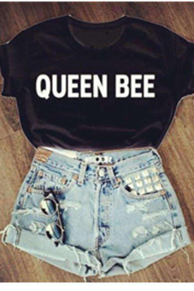 QUEEN BEE Caracter de bumbac Tricou Cool