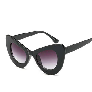 Oversize Cat Eye Sunglasses Goggles