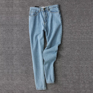 80' Retro Simple Mom Jeans - Lupsona
