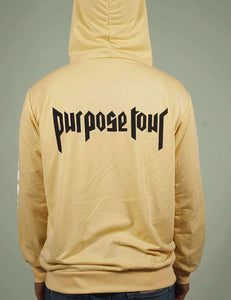 Sweat à capuche oversize Bieber Purpose Tour - Lupsona