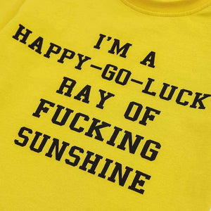 PSYCHO / HAPPY-GO-LUCK Drécken Crop Top