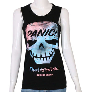 PANIK AM DISCO Punkband Tank Top
