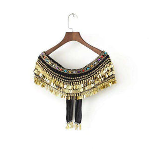 Boho Coins Gland Tube Top - Lupsona