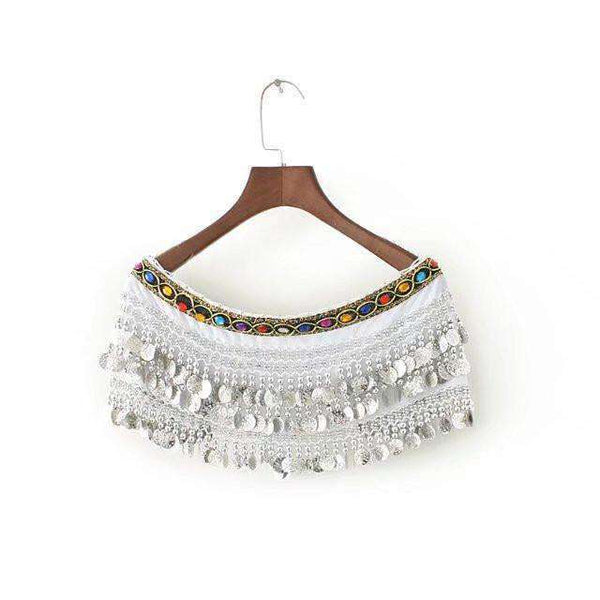Boho Mynter Tassels Tube Top - Lupsona
