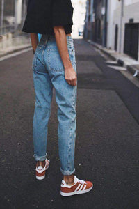 80 'Retro Simple Mom Jeans'