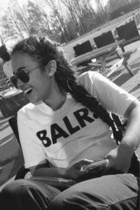 T-shirt ample style rue chic de BALR - Lupsona