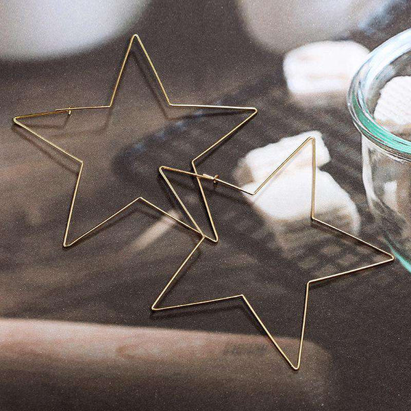 Stars Exaggerate Earrings