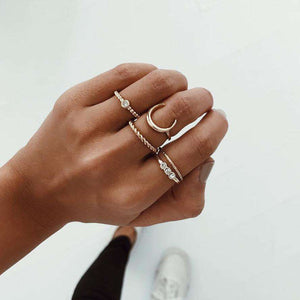 Chic Set Sada Diamond Ring - Lupsona