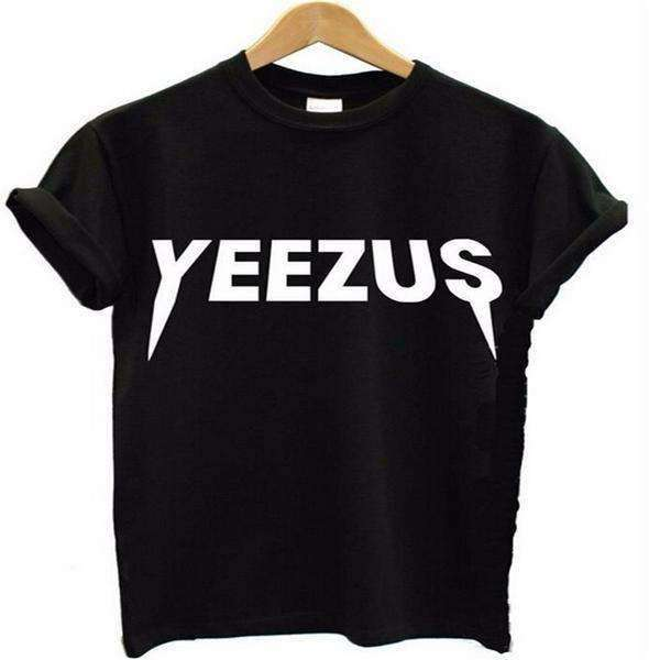 Camiseta Yeezus Cool Street Hip Pop