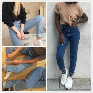 80 'Retro Simple Mom Jeans - Lupsona
