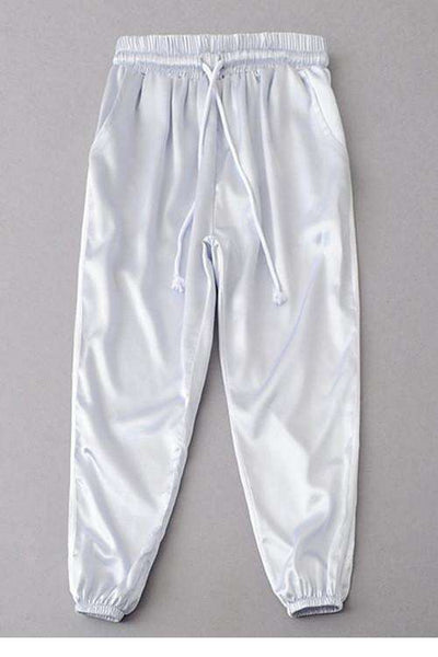 Silky Sports Two Lines Pantaloni scurți din satin