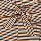 Colorful Stripes Tie-up tanka obleka - Lupsona