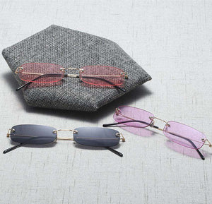 Chic Mini Rimless Solglasögon - Lupsona