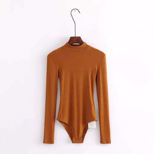Top Mock Neck Neck Slim - Lupsona
