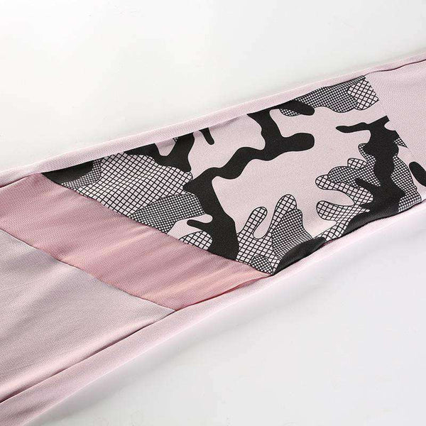 LOVE Letters Camouflage Urheilu 2 Pieces Set - Lupsona