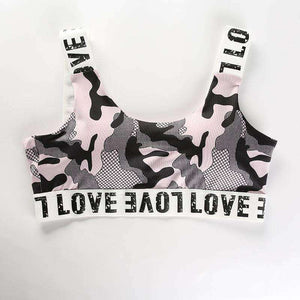 LOVE Letters Camouflage Sport 2 Pieces Set - Lupsona