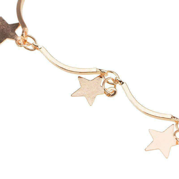 Conjunto de collar multicapa Little Stars Moon - Lupsona