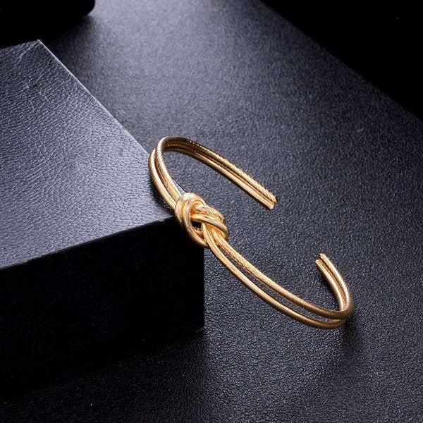 Chic Knot Arrow Ring Armbånd Set - Lupsona