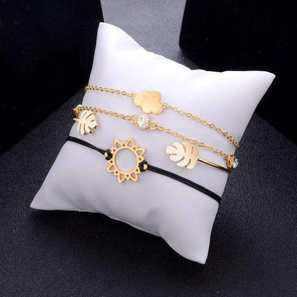 Leuke Sun Cloud Leaf Armbandenset - Lupsona
