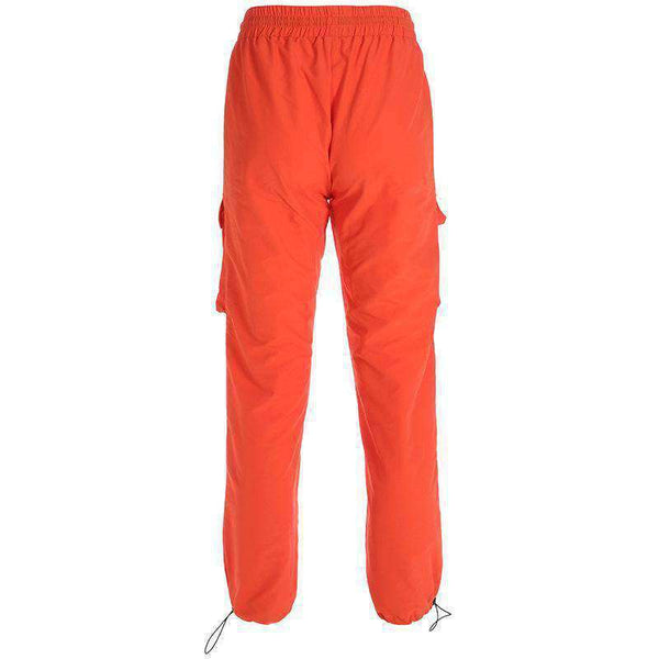 lettere stampate hip hop stampate pantaloni casual - Lupsona