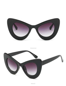 Occhiali da sole oversize Cat Eye - Lupsona