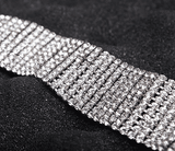 Double Layers Y-Type Chain With Diamond Choker