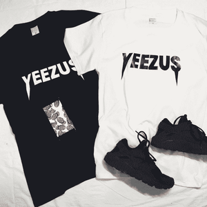 T-shirt Yeezus Cool Street Hip Pop - Lupsona