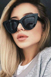retro cat-eyes style sunglasses - Lupsona
