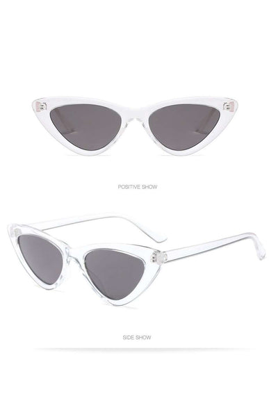 Gafas de sol Vintage Triangle Cat Eye Frame