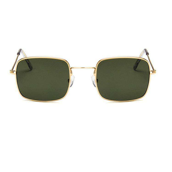 Chic Retro Square Shaped Sunglasses - Lupsona
