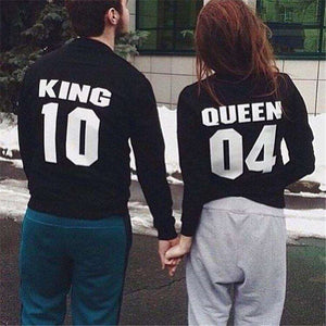 KING 10 et REINE 04 Couple Sweat - Lupsona